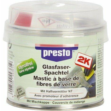 Mastic polyester avec fibre de verre Presto