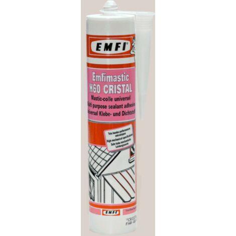 Mastic polymère Emfimastic MS60 EMFI - Blanc - Cartouche de 290 ml - 75044BE001