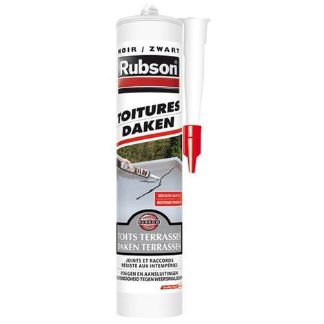 RUBSON - Mastic toiture - 280 mL - noir