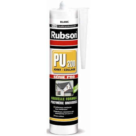 Mastic colle construction polymere hybride PU200 marron-280ml