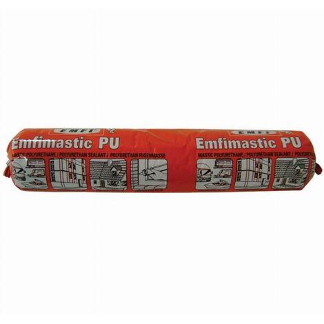 Mastic polyuréthane PU25 EMFI - Brun - Poche de 400 ml - 74064CE093