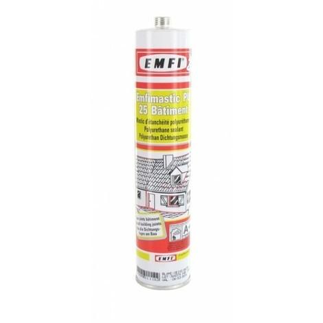 Mastic polyuréthane PU25 EMFI - Sable - Cartouche 300 ml - 74064HE085
