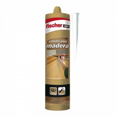 Mastic pour bois couleur chêne fischer 310ml 98696