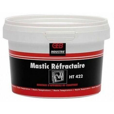 Mastic refractaire 1100° geb 422 pour Chauffe-eau, Cuisiniere bois charbon, Poele