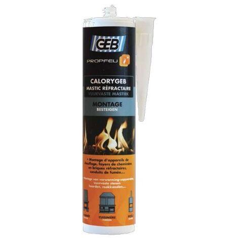 MASTIC REFRACTAIRE 1300°C 310 ML POUR ACCESSOIRES - 603.061