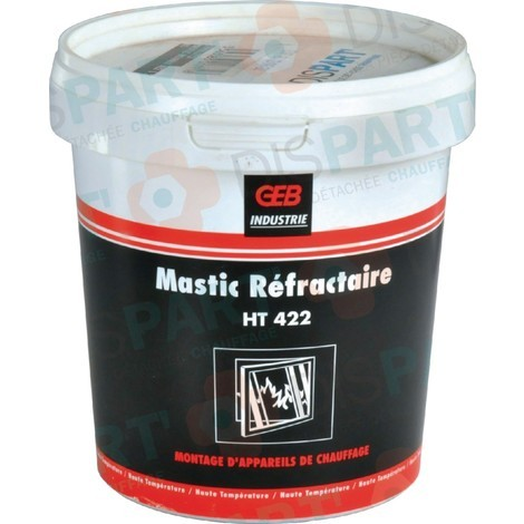 Mastic réfractaire 422 1,200kg 103473 réf S99911772 PCE DET CHAPPEE/BROTJE/IS CHAUFF