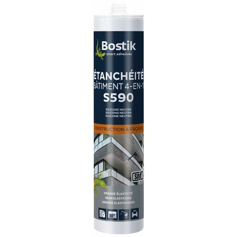 Mastic S590 Etancheite Beige 300ml - BOSTIK