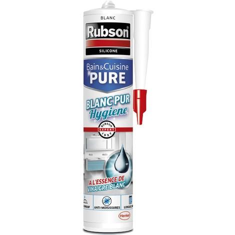 Mastic sanitaire Blanc pur hygiène 280ml