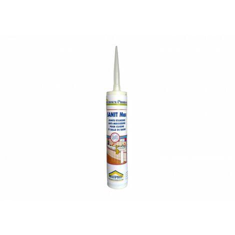 Mastic silicone cartouche joints fongicide cuisines - salles de bains