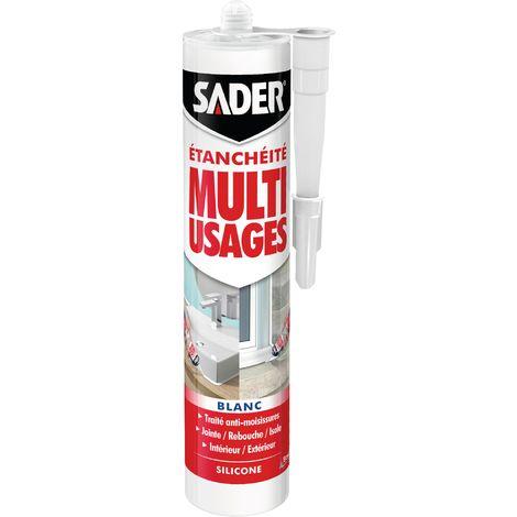 Mastic silicone Sader Multi-usages 280ml