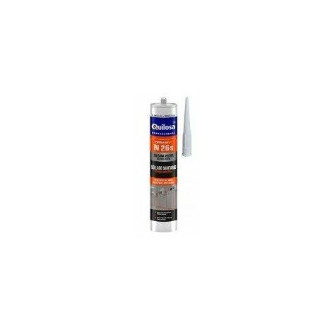 mastic silicone sanitaire neutre alimentaire désignation cartouche de 300 mlcouleur translucide