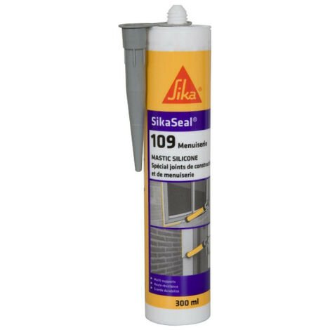 Mastic silicone SIKA Sikaseal 109 Menuiserie