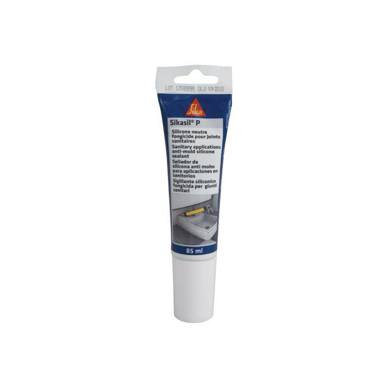 Mastic silicone universel pour joint d'étanchéité sil-P Marine - Transparent - 85ml - Transparent - Sika