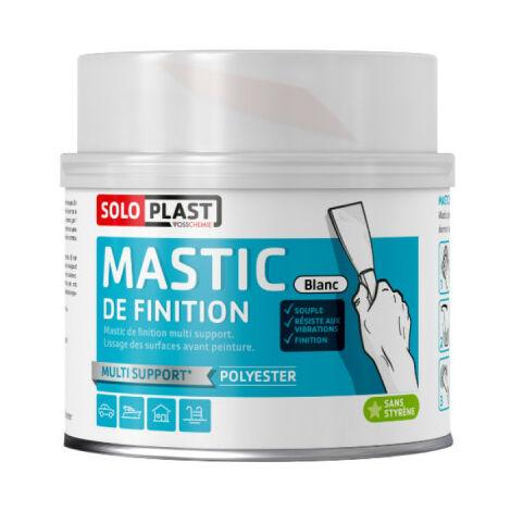 Mastic Soloplast type ferro élastic blanc 435g avec durcisseur - Blanc