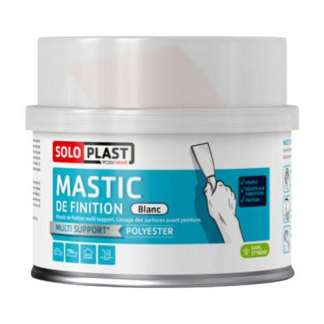 Mastic Soloplast type ferro élastic blanc 870g avec durcisseur