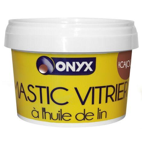 Mastic vitrier - à l'huile de lin - Acajou - plusieurs modèles disponibles