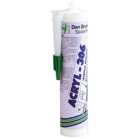Mastics acrylique Acryl 306 coloris blanc carton de 25 cartouches de 300ml - Blanc