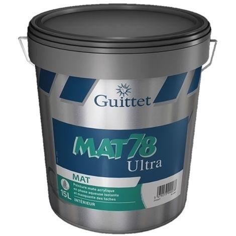 MAT 78 ULTRA BLANC 15L - Guittet
