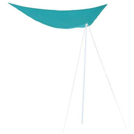 Mat de fixation voile d'ombrage 255 cm - Gris