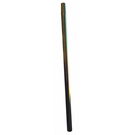 Mât emboîtable diamètre 40 mm zingué avec bouchon 1 m