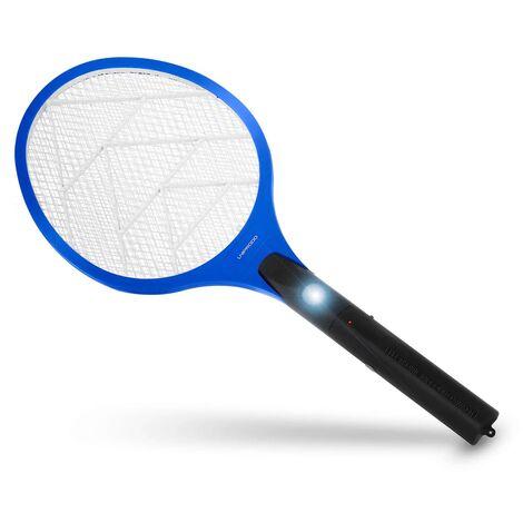 Mata Insectos Eléctrico Matamoscas De Raqueta Para Moscas Mosquitos 2.300 V Led