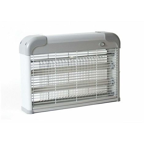 Mata moscas Ultravioleta 20W electrico lampara anti mosquitos ABS 2 tubos x 10W