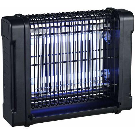 Mata Mosquitos Electrico Industrial 12W para Hogar y Uso interior. Lampara AntiMosquitos con Luz UV. Mosquitera Electrica contra Mosquitos, Moscas, Polillas, Insectos. Repelente Insectos Camping