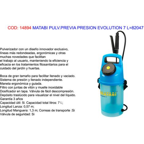 MATABI PULV.PREVIA PRESION EVOLUTION 7 (5 LITROS)=82047