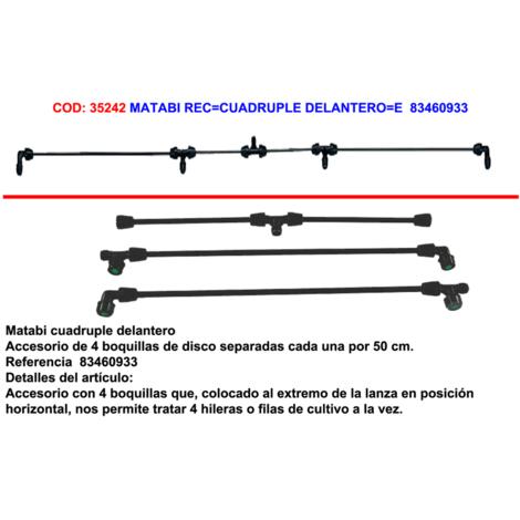 MATABI REC=CUADRUPLE DELANTERO=83460933