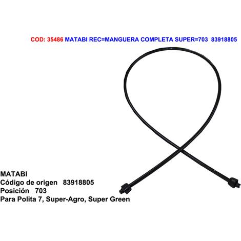 MATABI REC=MANGUERA COMPLETA SUPER=703=83918805