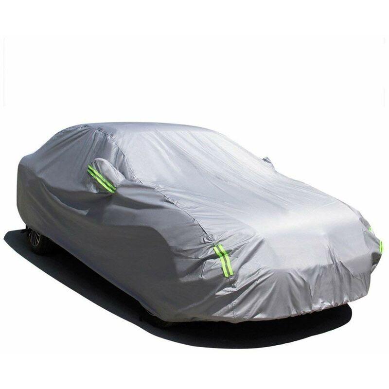 MATCC 210T 525*195*150cm Bache Housse de Voiture Housse de Protection Couverture de voiture