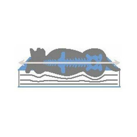Matelas à mémoire de forme - Couchage chien - Dimensions: 80 x 50 cm