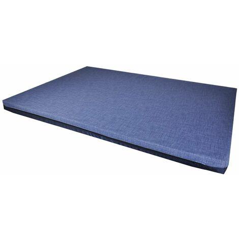 Matelas all season bleu foncé 80x60x5cm