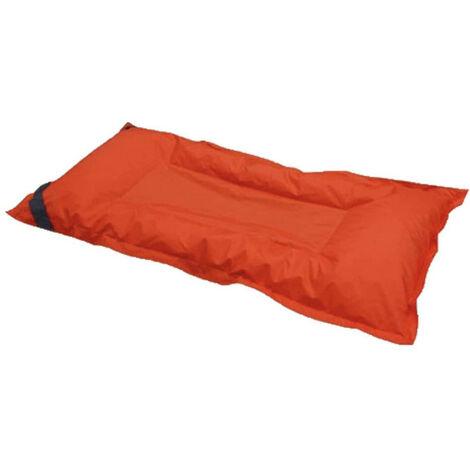 Matelas breez orange 90 x 180cm - Rouge