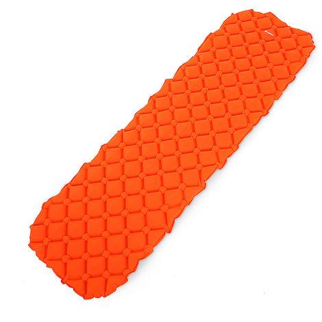 Matelas De Couchage Gonflable Exterieur, Orange