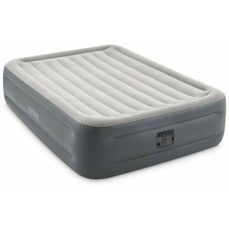 """main image of """"Matelas gonflable 2 personnes Intex Essential Rest Bed - Gris"""""""