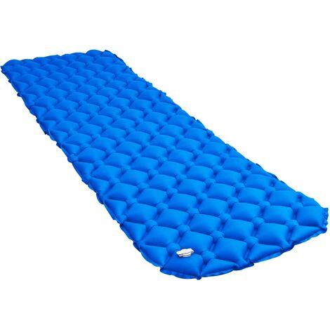 Matelas gonflable 58x190 cm Bleu