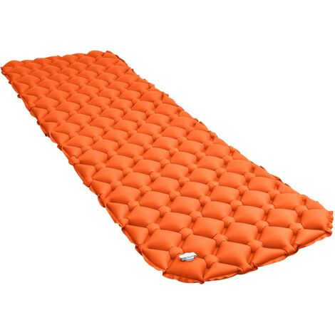 Matelas gonflable 58x190 cm Orange