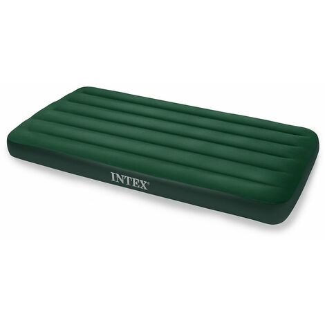 Matelas gonflable Airbed 1 place Fiber Tech Special - Vert