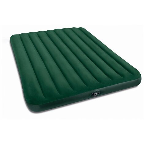 Matelas gonflable Airbed 2 places Fiber Tech Special - Vert