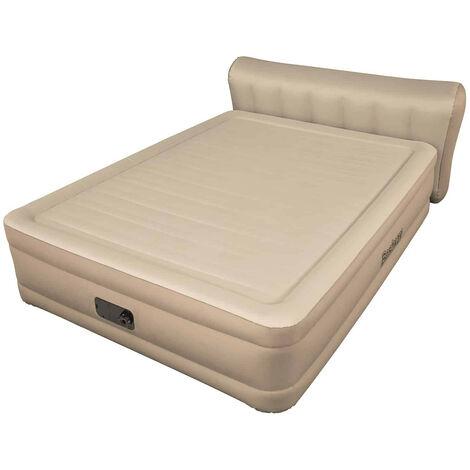 matelas gonflable double fortech avec pompe ca int gr e et. Black Bedroom Furniture Sets. Home Design Ideas
