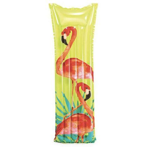 Matelas gonflable Fashion flamand - Vert
