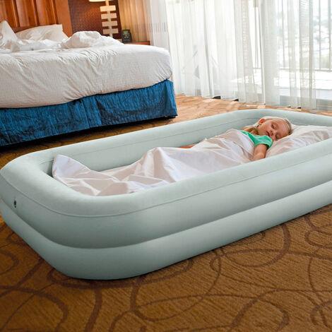 Matelas gonflable Intex 66810 lit d'enfant une place camping portable
