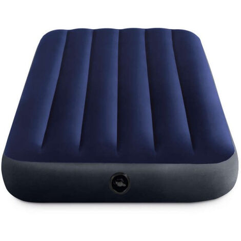 Matelas gonflable Intex Downy Classic Fiber Tech 1 place - 99 x 191 x 25 cm