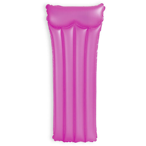 Matelas gonflable Intex Neon givré - Rose