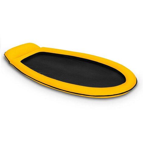 Matelas gonflable piscine Intex semi immergé maille - Vert
