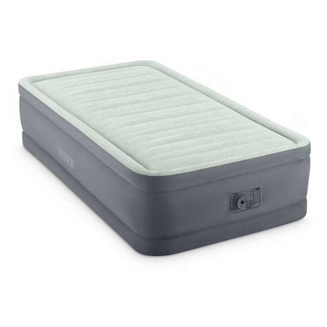 Matelas gonflable Prem'Aire Fiber Tech 1 place - Intex