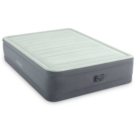 Matelas gonflable Prem'Aire Fiber Tech 2 places - Intex