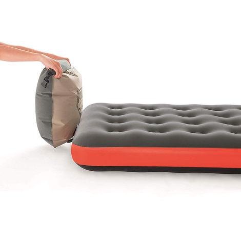 Matelas Gonflable Roll U0026 Relax Bestway 1 Personne   99   Orange