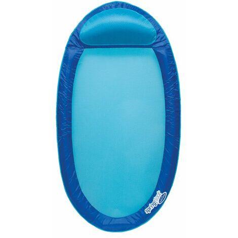Matelas gonflable semi-immergé Spring Float Kerlis - Bleu foncé